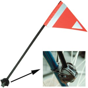 49N Lateral Safety Flag 34cm