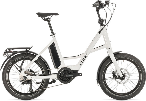 "Cube 20"" Compact Sport Hybrid Color: white'n'black"