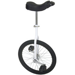 DaBrim Unicycle With White Fork