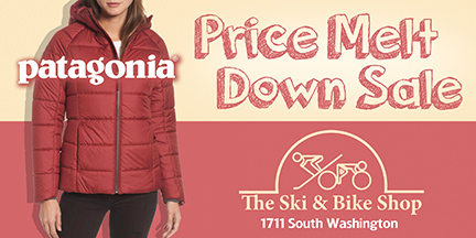 Patagonia Sale at the Ski and Bike Shop