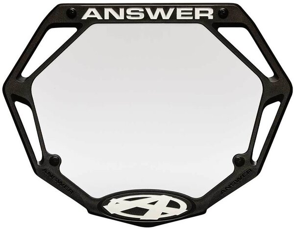 Answer BMX BMX 3D Number Plate