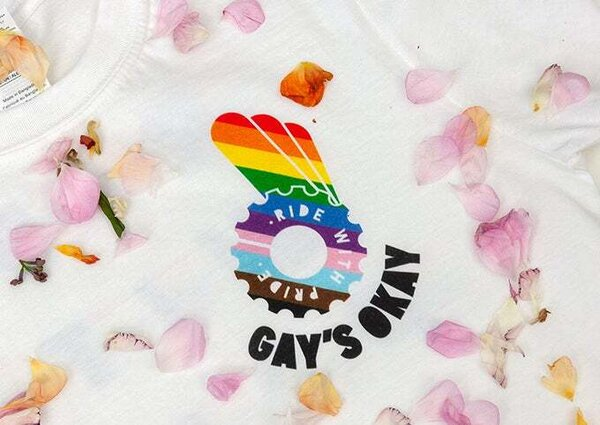 Gay's Okay Ride with Pride T-Shirt