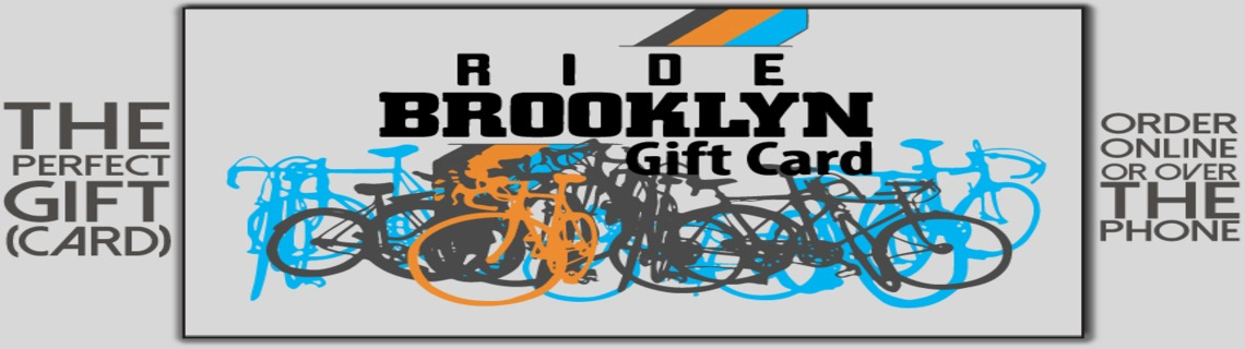 Ride Brooklyn Gift Card