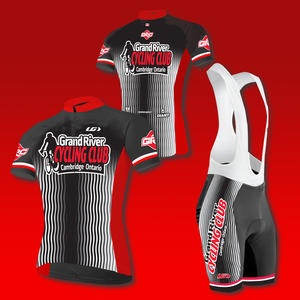 2016 Grand River Cycling Club Jersey and Bib design