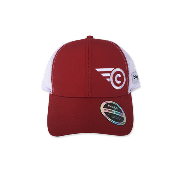 Cahaba Trucker Hat Color: Red