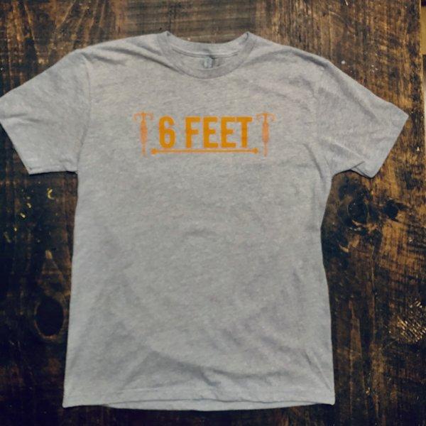 Cahaba Cycles Cahaba 6 Feet T-Shirt