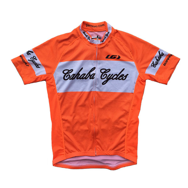 Cahaba Cycles Limited Edition Bright Orange Jersey