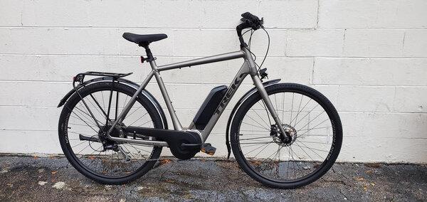 Cahaba Cycles Pre-Owned Trek Verve 2+ XL Metallic Grey