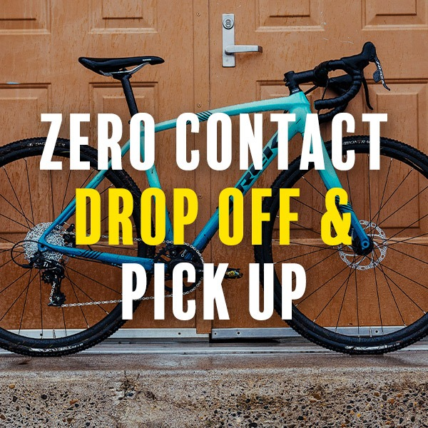 Zero contact drop off and pick up