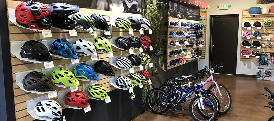 kids helmets and bikes