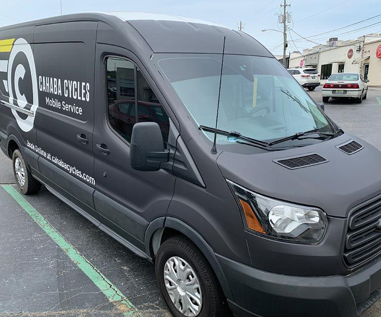 Cahaba Cycles Mobile Service Van