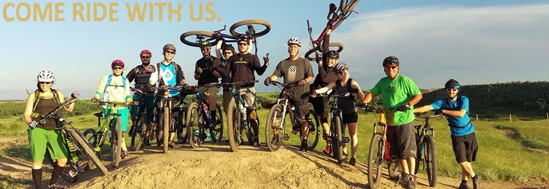 summer group ride