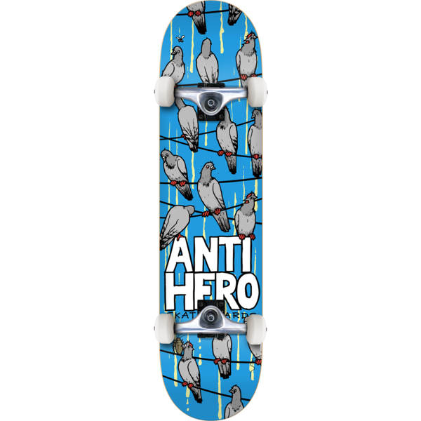 "Antihero Anti Hero Skateboards Conference Call Mid Complete Skateboards - 7.75"" x 31.25"""