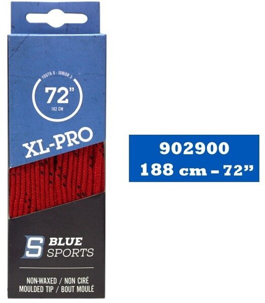 Blue Sports XL-Pro Non-Waxed Wide Skate Laces