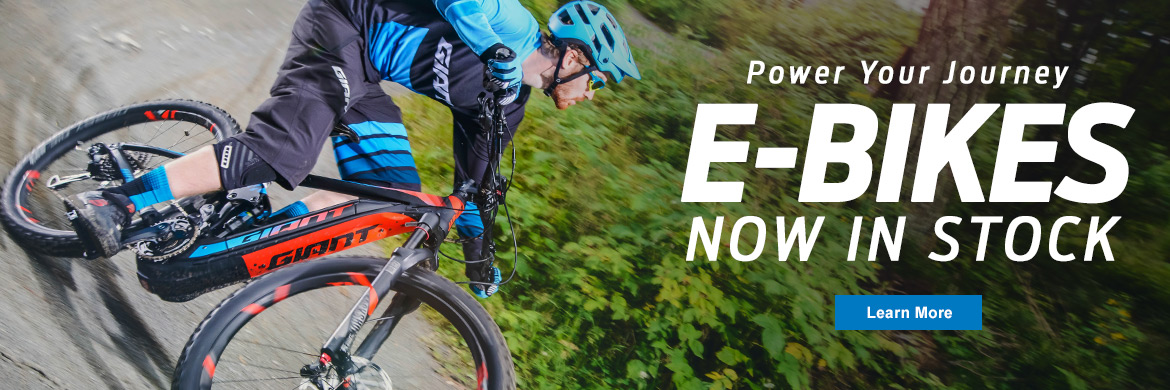 Electric Bikes - In-Stock