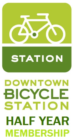 DBS Downtown Bicycle Station Half Year Membership