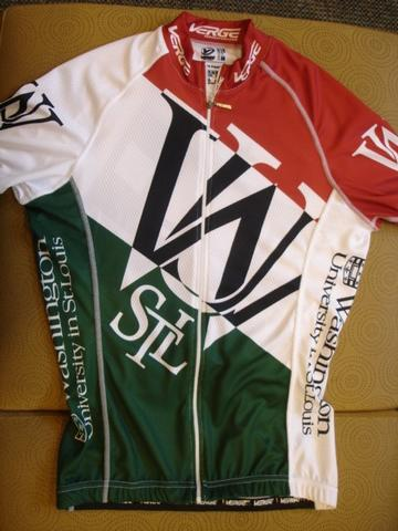 Big Shark Washington University Cycling Team Racing Jersey