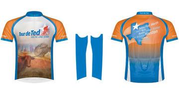 Edward Jones 2014 Tour de Ted Cycling Jersey Option 2