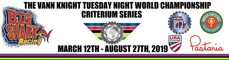 2019 Vann Knight Tuesday Night World Championship Criterium