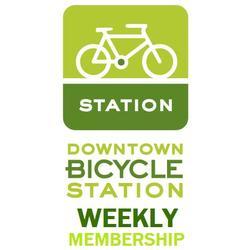 DBS Downtown Bicycle Station Weekly Membership