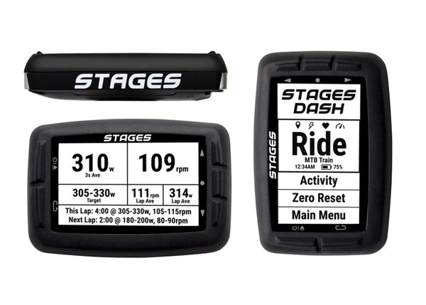 Stages Cycling Dash GPS Cycling Computer