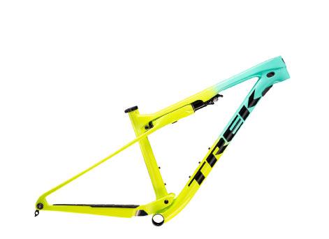 Supercaliber frameset in yellow/green
