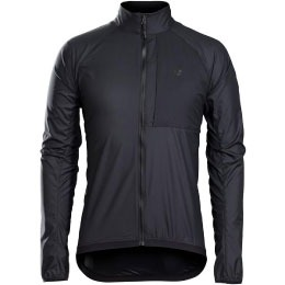 bontrager cycling jacket in black