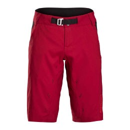 bontrager mountain bike shorts in red
