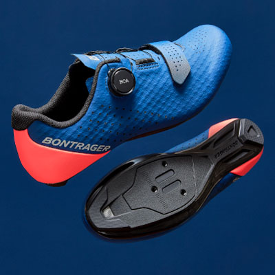 Clipless bike shoes attach to your pedals via cleats.