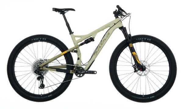 Salsa deadwood full suspension mountain bike