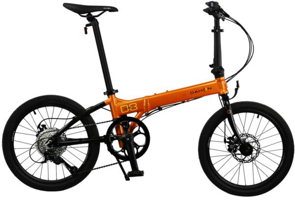 Dahon Launch D8 Orange