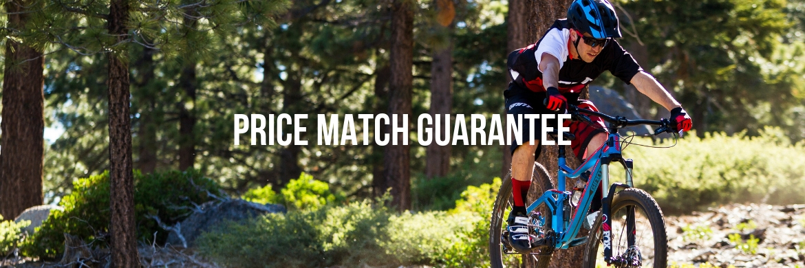 Price Match Guarantee at The Bicycle Planet