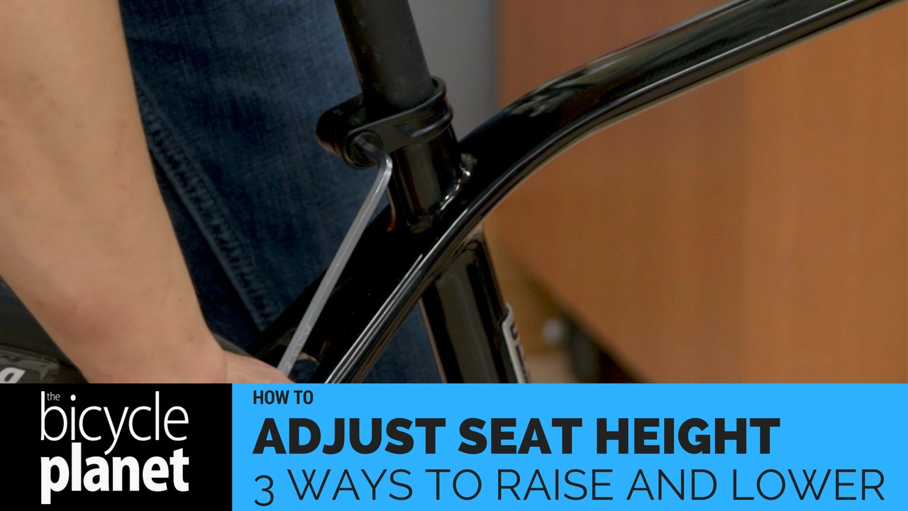 3 ways to adjust seat height- raise and lower