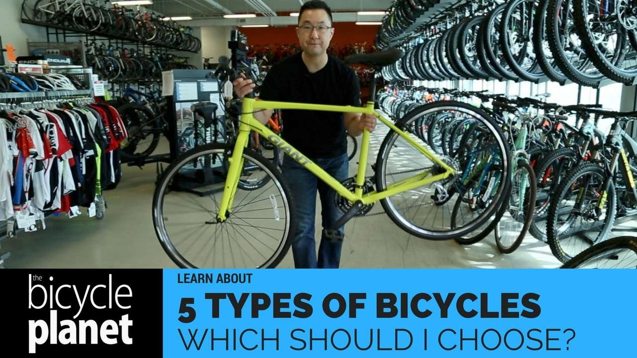 5 Types Of Bicycles