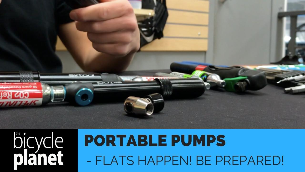 Portable Bike Pumps