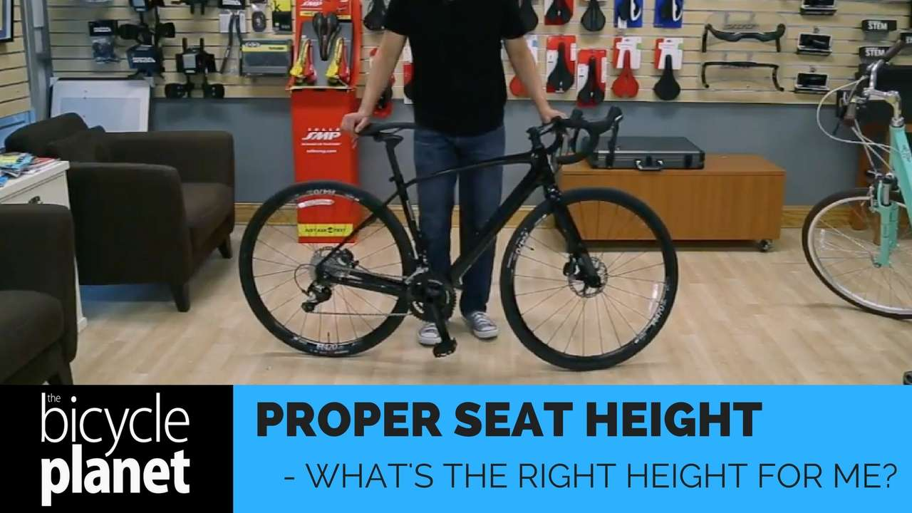 Proper Seat Height