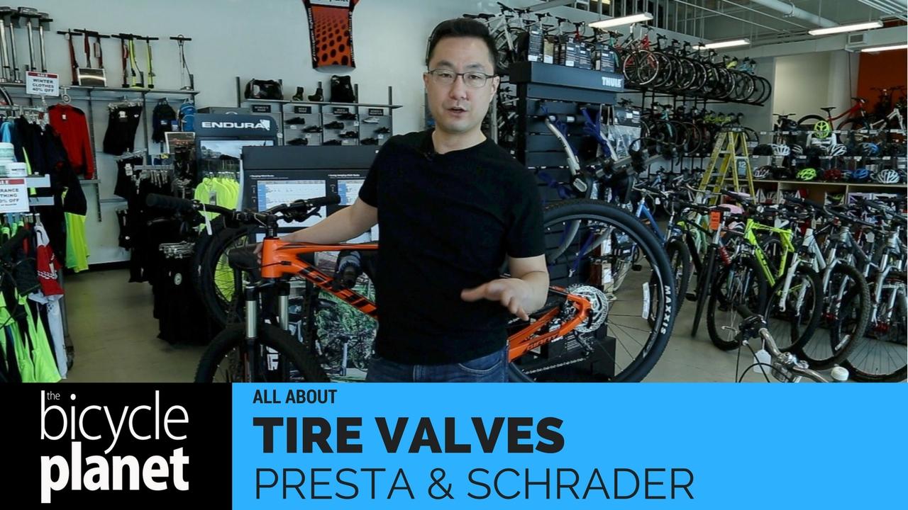 Tire Valves - Presta and Schrader