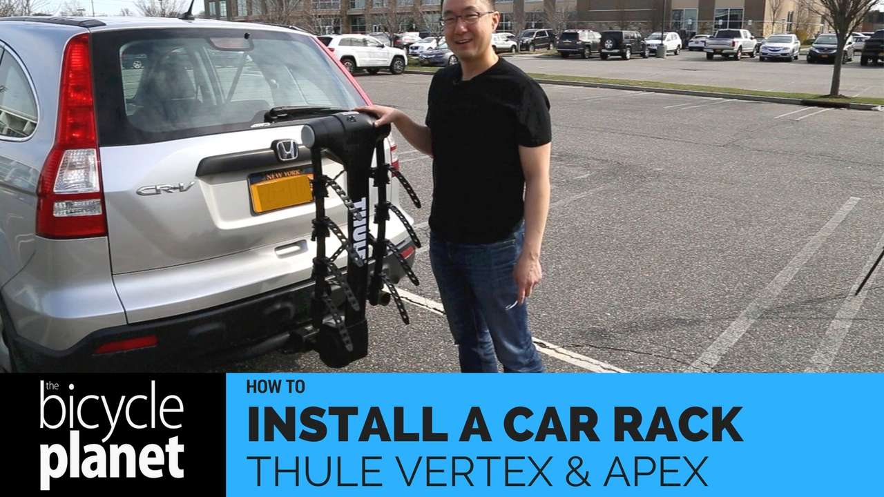 HOW TO INSTALL THULE VERTEX AND APEX CAR RACKS