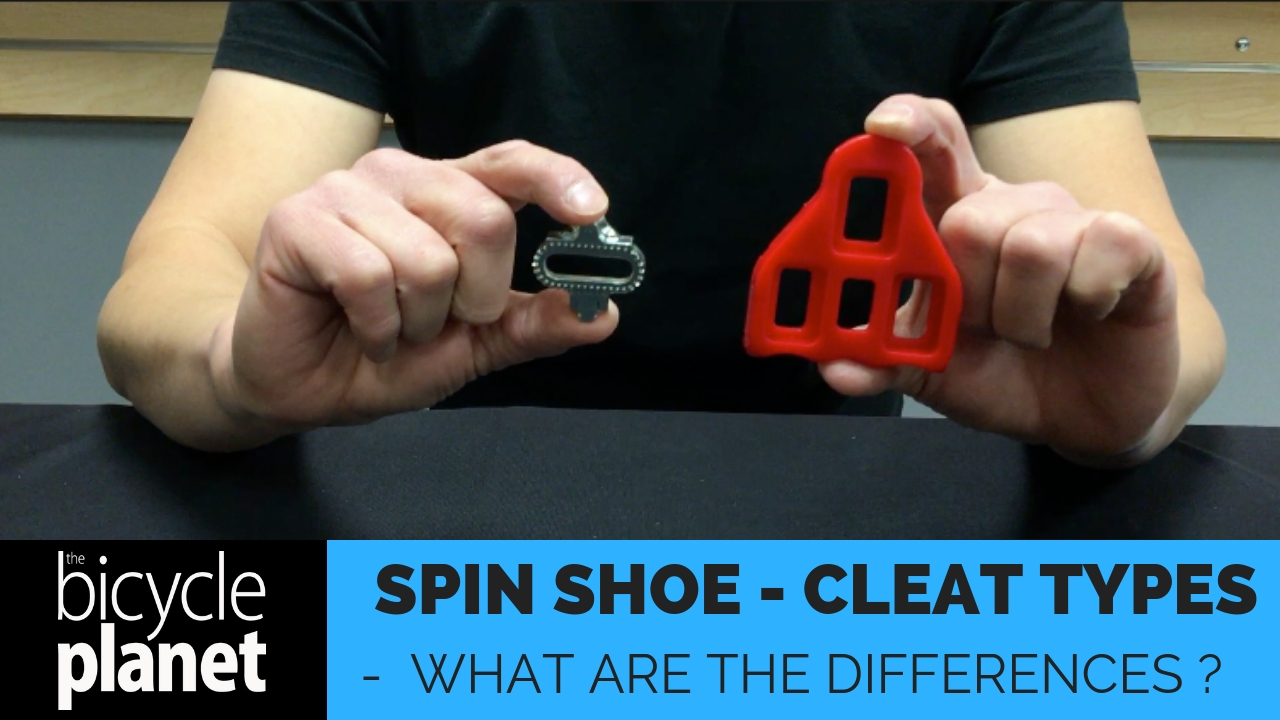 Spin Shoes Cleat Types