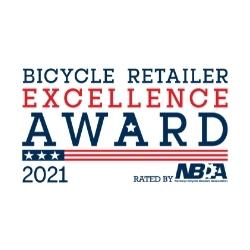 NBDA Bicycle Retailer Excellence Award 2021