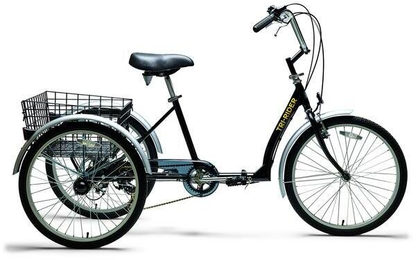 """Belize Tri Rider Folding Tricycle 24"""""""