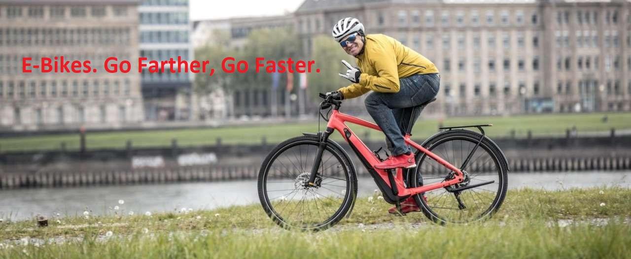Pedal Assist E-Bikes