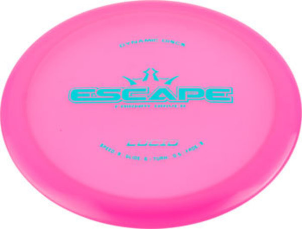 Dynamic Discs Dynamic Discs Escape Lucid Golf Disc Fairway Driver: Assorted Colors