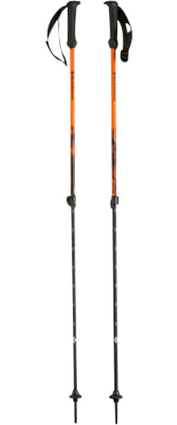 Black Diamond Black Diamond First Strike Trekking Poles: Vibrant Orange Pair
