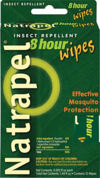 Adventure Medical Kits Adventure Medical Kits First Aid: Natrapel 8-Hour Mosquito protection: 12-Pack Wipes