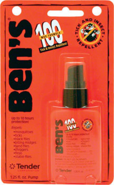 Adventure Medical Kits Adventure Medical Kits First Aid: Ben's 100 Max Insect Repellent: 1.25oz Spray
