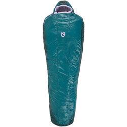 NEMO Nemo Equipment, Inc. Women's Azura 35 Sleeping Bag, Primaloft Silver Synthetic Insulation: Long, Spruce/Lavender