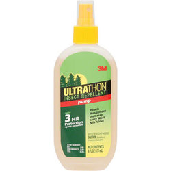 3M 3M Ultrathon First Aid Insect Repellent: Pump: 6oz