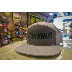 The Bike Hub Grey 7 Panel Hat