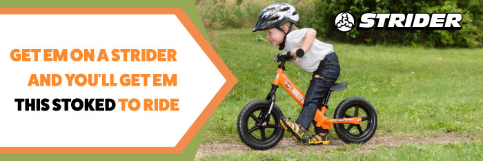 Strider balance bikes for your new rider